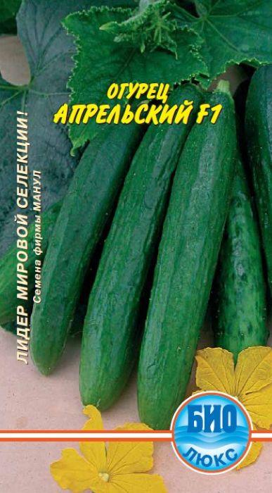 Семена Аэлита Огурец. Апрельский F14601729072307Раннеспелый гибрид (45-50 дней от появления всходов до начала созревания), длязащищенного грунта, партенокарпический (в первый месяц цветенияцелесообразно опыление), салатного назначения. Зеленец имеет длину до 22 см,массу 200-250 г. Средняя урожайность за сезон - до 24 кг/м2. Отличается дружнымплодоношением, высокой товарностью, хорошим качеством свежих плодов. Уважаемые клиенты! Обращаем ваше внимание на то, что упаковка может иметьнесколько видов дизайна. Поставка осуществляется в зависимости от наличия наскладе.