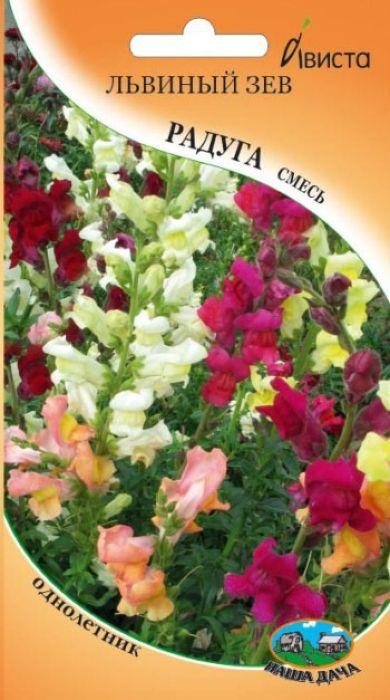 Семена Ависта Львиный зев. Радуга4605429350772Семена Ависта Львиный зев. Радуга - однолетняя низкорослая смесь семейства подорожниковые. Растение образует сильноветвистый, компактный, пирамидальный куст с большим числом цветущих побегов первого и второго порядка, высотой 40 см. Цветоносы густо покрыты мелкими листочками и элегантным колосовидным соцветием с многочисленными цветками. Цветки ароматные, крупные, неправильной формы, двугубые, напоминающие разинутую львиную пасть, снаружи опушенные.Посев на рассаду в марте - апреле, поверхностно. Семена прорастают на свету. Всходы появляются через 7-12 дней, растут медленно. Устойчив к заморозкам. Продолжительное и обильное цветение: июнь - октябрь.Подходит для использования в различных цветниках, на клумбах, рабатках, прекрасный материал для срезки.Предпочитает солнечные места с хорошо удобренной, суглинистой почвой.Товар сертифицирован.Уважаемые клиенты! Обращаем ваше внимание на то, что упаковка может иметь несколько видов дизайна. Поставка осуществляется в зависимости от наличия на складе.