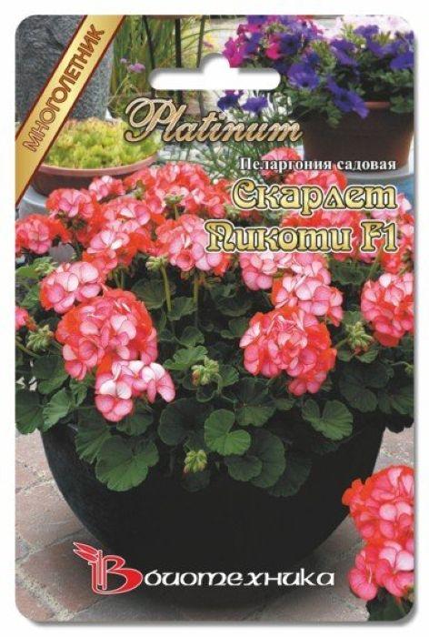 Семена Биотехника Пеларгония садовая. Скарлет Пикоти F14606362971680 Уважаемые клиенты! Обращаем ваше внимание на то, что упаковка может иметь несколько видов дизайна. Поставка осуществляется в зависимости от наличия на складе.