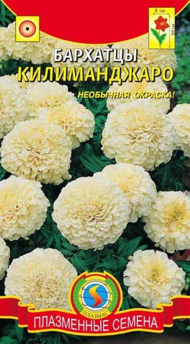 Семена Плазмас Бархатцы. Килиманджаро4607171981181