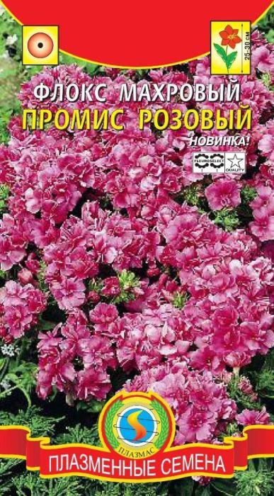 Семена Плазмас Флокс махровый розовый. Промис4607171982621