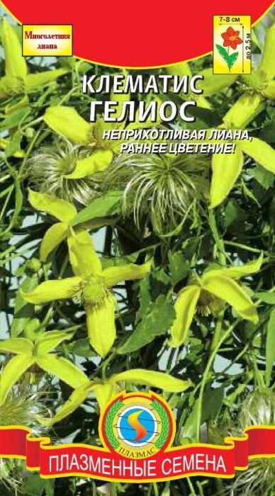 Семена Плазмас Клематис. Гелиос4607171983628Неприхотливая холодоустойчивая лиана вырастающая до 2,5 м в высоту.Зацветает через 6-8 недель после всходов, на следующий год цветы появляютсяранней весной на молодых растениях. Соцветия золотисто жёлтые 7-8 см вдиаметре, фонариковидной формы, немного наклонённые, состоящие изчетырёх чашелистников.После цветения шелковистые, перьевидные семенныекоробочки придают растению очень привлекательный вид, особенно этостановится видно, когда растение скинет листву. Возможно использование какконтейнерное растение, почвопокровное растение или как вьющееся растениедля создания живых изгородей.ПОСЕВ: на рассаду – февраль-март. Возможен прямой посев семенами воткрытый грунт в мае, после исчезновения угрозы заморозков. Сеять редко поповерхности влажного компоста, присыпав семена тонким слоем компоста. Длясохранения влажности закрыть полиэтиленовой плёнкой. Оптимальнаятемпература для прорастания семян 200°C, всходы появляются через 2-3недели. После исчезновения угрозы заморозков растения высаживают напостоянное место. К почвам нетребовательно, предпочитает солнечноеместоположение.УХОД: регулярные поливы, подкормки (с апреля по июль – каждые четыренедели), рыхление, мульчирование почвы и обязательно – установка опор. Непереносит застоя влаги.На зиму растение укрывают листьями, не ранее чемпочва промёрзнет на 3-5 см. При выращивании в контейнерах, старые побегиобрезают на высоте 30 см для улучшения ветвления.ЦВЕТЕНИЕ: в первый год через 6-8 недель после всходов; на следующий год сиюля до сентября.Уважаемые клиенты! Обращаем ваше внимание на то, что упаковка может иметьнесколько видов дизайна. Поставка осуществляется в зависимости от наличияна складе.