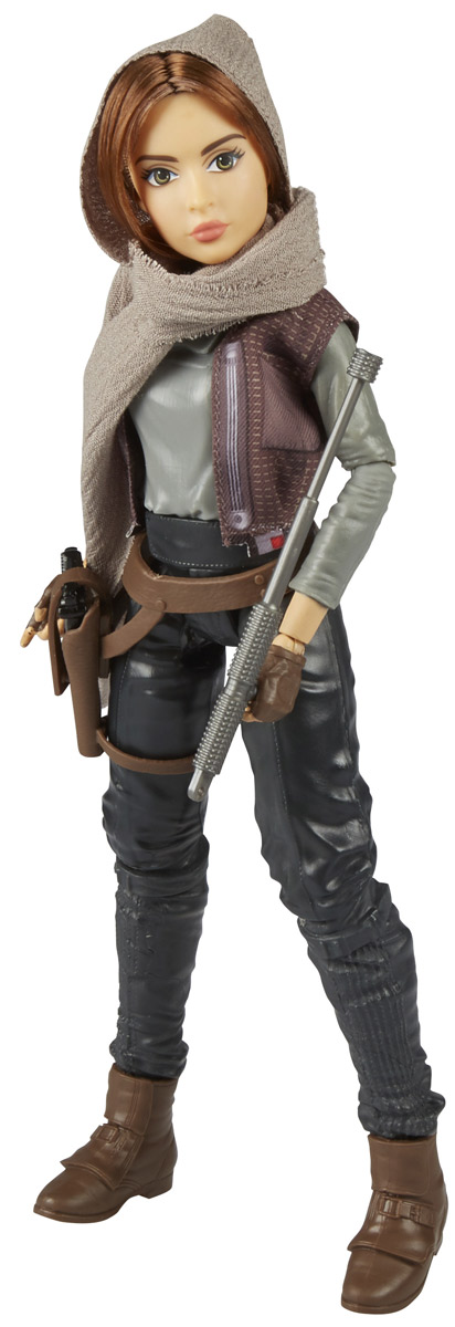 Star Wars Фигурка Jyn Erso фигурка funko pop star wars rogue one – young jyn erso bobble head 9 5 см