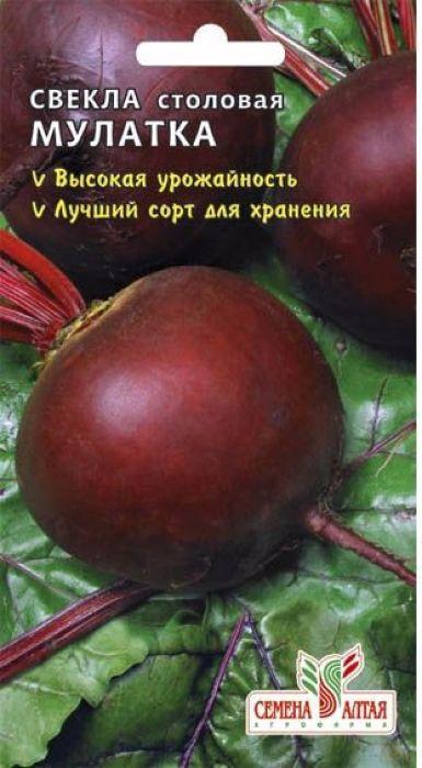 Семена Алтая Свекла. Мулатка4630002517587