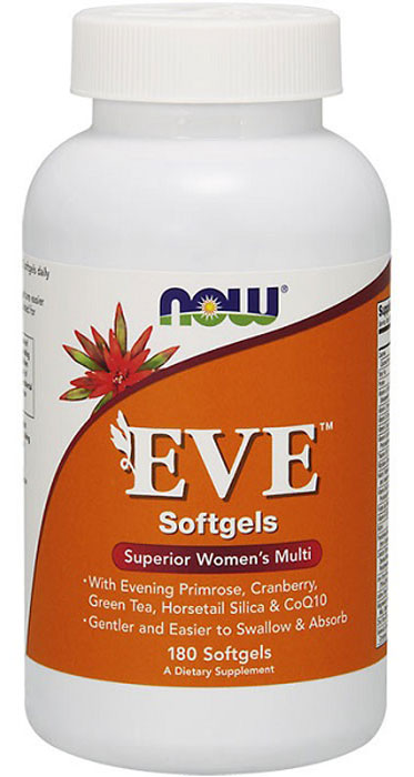 Женские витамины Now Foods Eve Woman's Multi, 180 капс now foods л тианин капсулы 90шт
