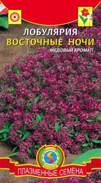 Семена Плазмас Лобулярия. Восточные ночи Алиссум.4650001402301