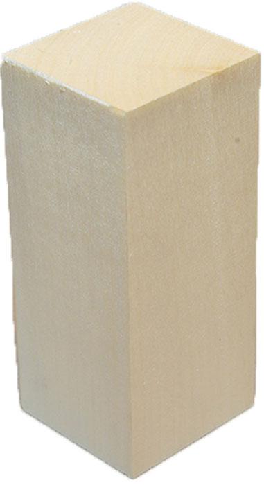 Заготовка деревянная Промысел Брусок липовый, для резьбы, 5 х 10 х 5 смБрЛ-2Заготовка из натурального дерева Брусок липовый является хорошей основой для резьбы по дереву, декупажа, ручной росписи, декоративных поделок. Рекомендуемая влажность воздуха 40-60%. Беречь от попадания прямых солнечных лучей. Держать в сухом месте!Материал: дерево массив.