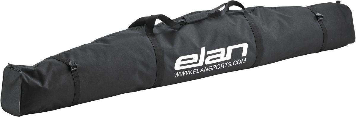 Чехол для горных лыж Elan 2P SKI BAG, цвет: черный, длина 180 смCG561016Для тех, кто катается на лыжах и путешествует с ними. Благодаря коллекции сумок, которые подходят на все случаи жизни, вы будете чувствовать себя как дома на любом курорте мира. Сумка Elan для туристического снаряжения удобная, портативная и стильная.Особенности: стяжные ремни, мягкие ручки.