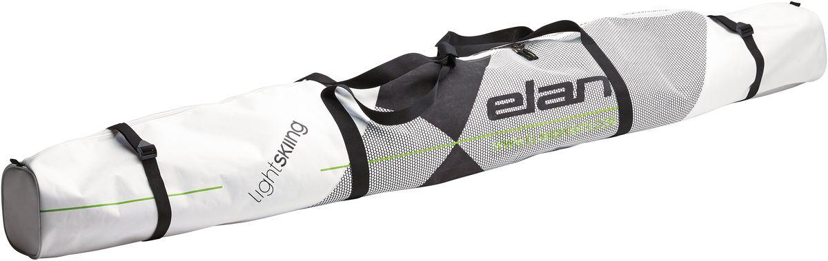 Чехол для горных лыж Elan 1P LADY SKI BAG, цвет: белый, длина 170 смCG661416Чехол для горных лыж Elan 1P LADY SKI BAG - для тех, кто катается на лыжах и путешествует с ними. Чехол Elan для туристического снаряжения удобный, портативный и стильный.Особенности: стяжные ремни, мягкие ручки.Подходит на все случаи жизни, с таким чехлом вы будете чувствовать себя как дома на любом курорте мира.Что взять с собой на горнолыжную прогулку: рассказывают эксперты. Статья OZON Гид