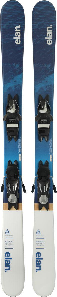 Лыжи горные детские Elan Pinball Pro EL 7.5 QS, с креплениями, цвет: синий, рост 145 смXETCVH17+DB866016Горные лыжи Elan Pinball Pro EL 7.5 QS - самые инновационные детские лыжи благодаря технологии U-Flex. U-Flex позволяет детям использовать гибкость лыжи на 100%, прогибая их в центральной части достаточно для того, чтобы осваивать даже карвинг с первых поворотов. В детских моделях Elan применяется технология U-Flex, благодаря которой лыжи мягче на 25% по сравнению со средним значением в своей категории. Легкий сердечник Synflex, конструкция Full Power Cap и профиль Early Rise Rocker - все это в сочетании с технологией U-Flex позволяет осваивать детям резаные повороты буквально с первого дня. Эта уникальная патентованная технология способствует быстрому прогрессу и большему удовольствию от катания.Early Rise Rocker - это то, что позволяет лыжам Elan прописывать плавные дуги без лишних усилий. Все благодаря умеренному рокеру в носке и пятке, что делает лыжи очень игривыми, послушными и универсальными.Quick Shift System - это полностью интегрированная конструкция платформа-в-платформе. В производстве этой платформы применяются легкие композитные материалы, ее невысокая жесткость идеально повторяет прогиб лыж с технологией U-Flex для максимальной послушности.Full Power Cap - традиционная кэп-конструкция, очень легкая, маневренная и прощающая.Synflex Core - это сердечник из композитных материалов с оптимальным распределением жесткости. Плотность материала сердечника изменяется по длине лыж, что позволяет создавать лыжи с выдающимися характеристиками.Fiberglass х - усиление фиберглассом оптимизирует распределение гибкости лыж и повышает их торсионную жесткость. Волокна фибергласса расположены либо на, либо под сердечником и улучшают его структурную целостность.Что взять с собой на горнолыжную прогулку: рассказывают эксперты. Статья OZON Гид