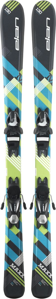 Лыжи горные детские Elan Maxx QS, с креплениями, цвет: черный, рост 120 смXFDCQZ17+DB966416Cамые инновационные детские лыжи на рынке благодаря технологии U-Flex. U-Flex позволяет детям использовать гибкость лыжи на 100%, прогибая их в центральной части достаточно для того, чтобы осваивать даже карвинг с первых поворотов.Технические особенности:U-FlexU-Flex В детских моделях Elan применяется технология U-Flex, благодаря которой лыжи мягче на 25% по сравнению со средним значением в своей категории. Легкий сердечник Synflex, конструкция Full Power Cap и профиль Early Rise Rocker - все это в сочетании с технологией U-Flex позволяет осваивать детям резаные повороты буквально с первого дня. Эта уникальная патентованная технология способствует быстрому прогрессу и большему удовольствию от катания.Early Rise RockerEarly Rise Rocker Early Rise Rocker - это то, что позволяет лыжам Elan прописывать плавные дуги без лишних усилий. Все благодаря умеренному рокеру в носке и пятке, что делает лыжи очень игривыми, послушными и универсальными.Quick ShiftQuick Shift Quick Shift System - это полностью интегрированная конструкция платформа-в-платформе. В производстве этой платформы применяются легкие композитные материалы, ее невысокая жесткость идеально повторяет прогиб лыж с технологией U-Flex для максимальной послушности.Full Power CapFull Power Cap Full Power Cap - традиционная кэп-конструкция, очень легкая, маневренная и прощающая.Synflex CoreSynflex Core Syn?ex Core - это сердечник из композитных материалов с оптимальным распределением жесткости. Плотность материала сердечника изменяется по длине лыж, что позволяет создавать лыжи с выдающимися характеристиками.FiberglassFiberglass Усиление фиберглассом оптимизирует распределение гибкости лыж и повышает их торсионную жесткость. Волокна фибергласса расположены либо на, либо под сердечником и улучшают его структурную целостность.