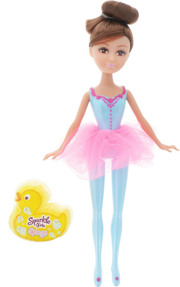 Funville Игровой набор с куклой Sparkle Girlz с утенком-губкой