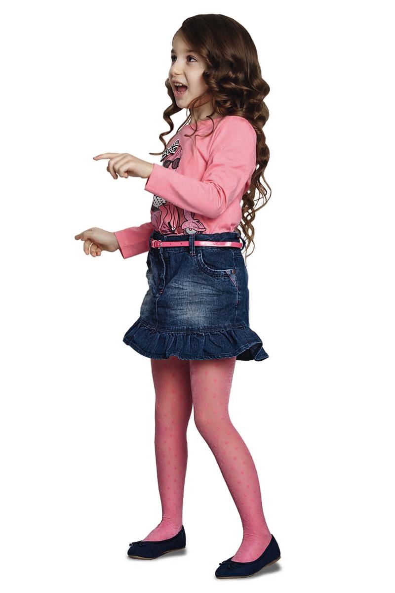 Колготки для девочки Penti Glare, цвет: розовый. m0c0327-0135 PNT_29. Размер 2 (104/110)m0c0327-0135 PNT_29Детские колготки Penti изготовлены из высококачественного эластичного материала. Колготки выполнены с мягкой резинкой на поясе и оформлены оригинальным принтом.Не секрет, что именно колготки способны разнообразить наряд, придать ему индивидуальность и добавить изюминку. Замечательные и неповторимые колготки от Penti никого не оставят равнодушными!