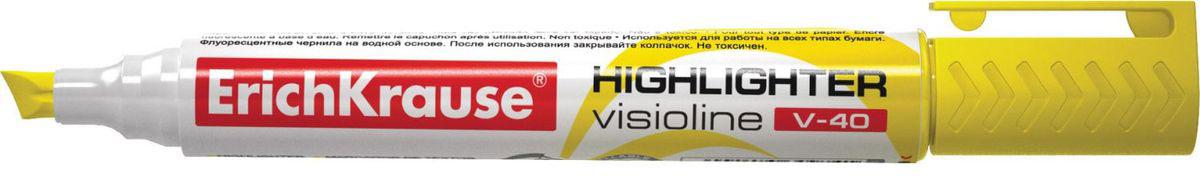 Erich Krause Маркер Visioline V-40 желтый 30974 erich krause маркер visioline v 40 желтый 30974