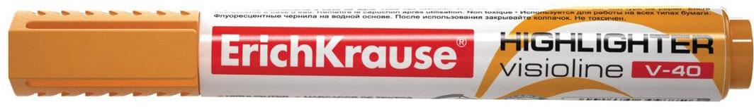 Erich Krause Маркер Visioline V-40 оранжевый 30977 цветной сургуч перо для письма купить в украине