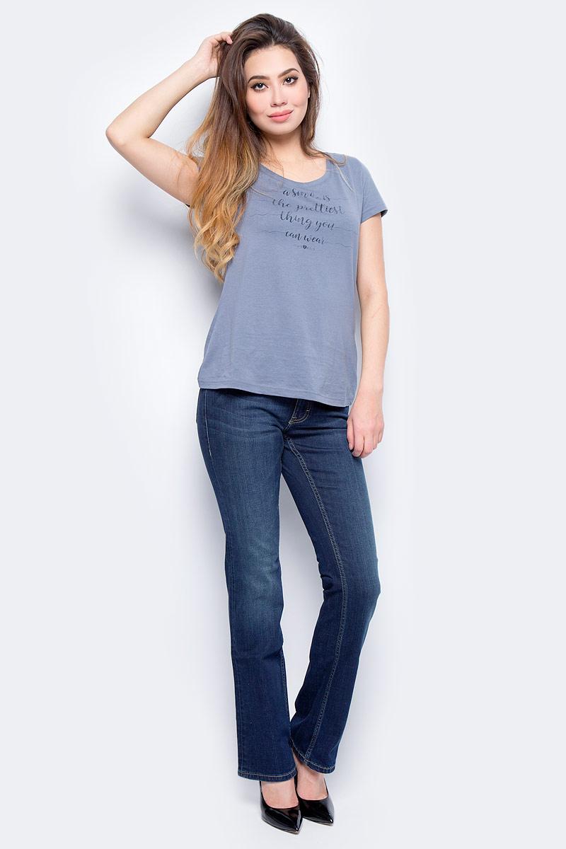 Джинсы жен Mustang Sissy Boot, цвет: синий. 0520-5220-593_5000-882. Размер 36-32 (52-32)0520-5220-593_5000-882