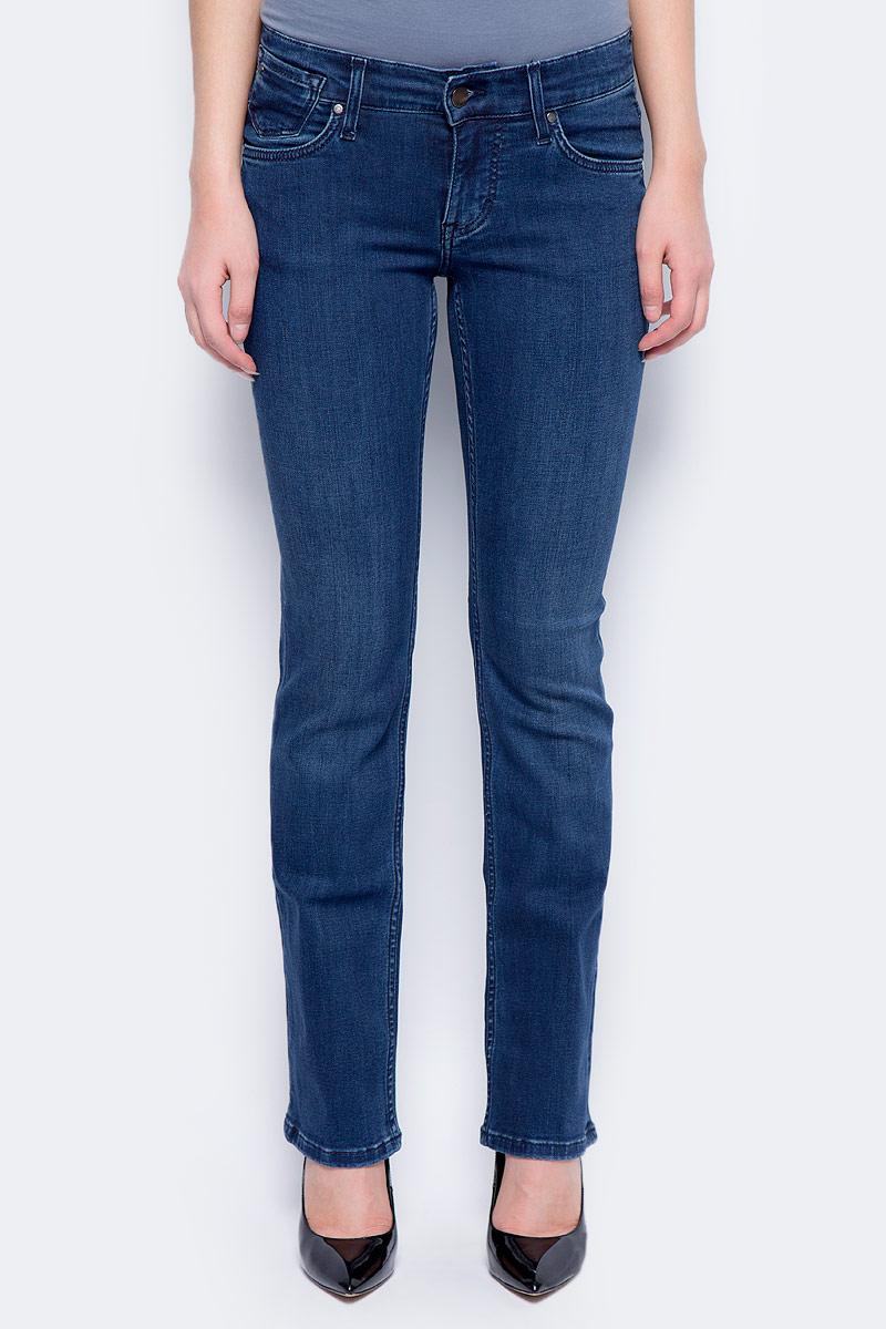Джинсы женские Mustang Girls Oregon, цвет: синий. 3580-5781-077_077. Размер 26-32 (42-32) джинсы мужские mustang oregon tapered цвет черный 3116 5764 088 размер 36 32 52 32