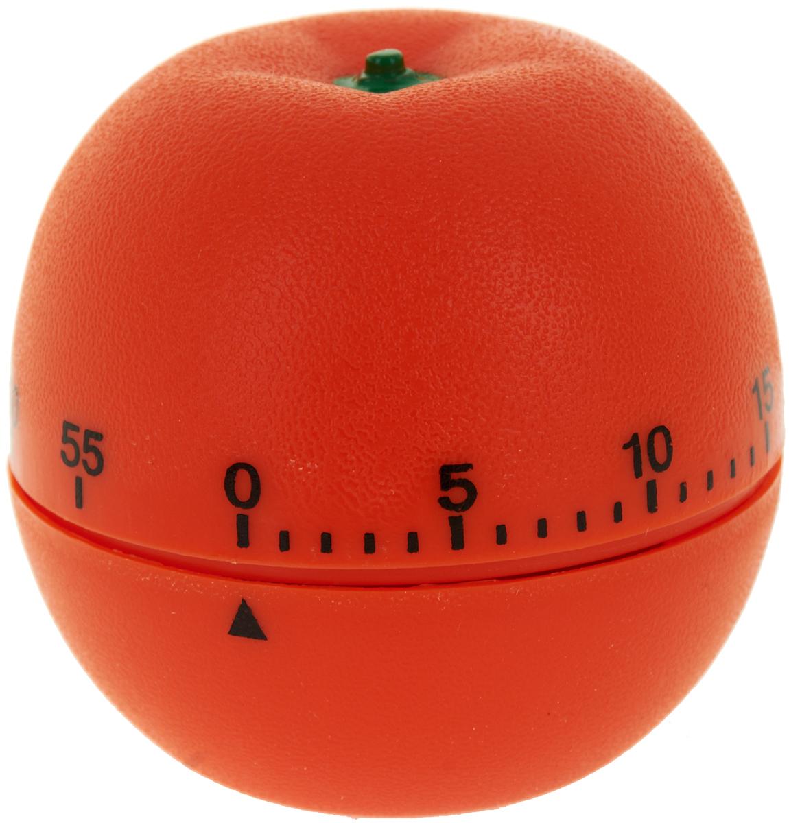 Таймер кухонный Best Home Kitchen Апельсин, цвет: оранжевый, на 60 минут4440038Механический кухонный таймер Best Home Kitchen Апельсин изготовлен из цветного пластика. Максимальное время, на которое Вы можете поставить таймер, составляет 60 минут. После того, как время истечет, таймер громко зазвенит. Оригинальный дизайн таймера украсит интерьер любой современной кухни, и теперь Вы сможете без труда вскипятить молоко, отварить пельмени или вовремя вынуть из духовки аппетитный пирог.