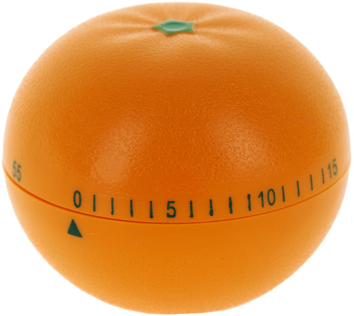 Таймер кухонный Best Home Kitchen Мандарин, цвет: оранжевый, на 60 минут4440039Механический кухонный таймер Best Home Kitchen Мандарин изготовлен из цветного пластика. Максимальное время, на которое Вы можете поставить таймер, составляет 60 минут. После того, как время истечет, таймер громко зазвенит. Оригинальный дизайн таймера украсит интерьер любой современной кухни, и теперь Вы сможете без труда вскипятить молоко, отварить пельмени или вовремя вынуть из духовки аппетитный пирог.