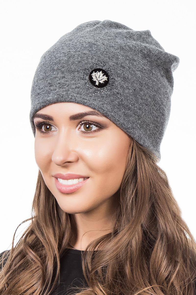 Шапка женская Level Pro Шеврон, цвет: серый меланж. 998977. Размер 56/58998977Женская шапка Level Pro Шеврон отлично дополнит ваш образ в холодную погоду. Модель выполнена из высококачественной пряжи. Для комфорта и тепла внутри шапки предусмотрена мягкая флисовая подкладка. Изделие украшено нашивкой. Такая шапка станет модным и стильным дополнением вашего гардероба, в ней вам будет уютно и тепло!