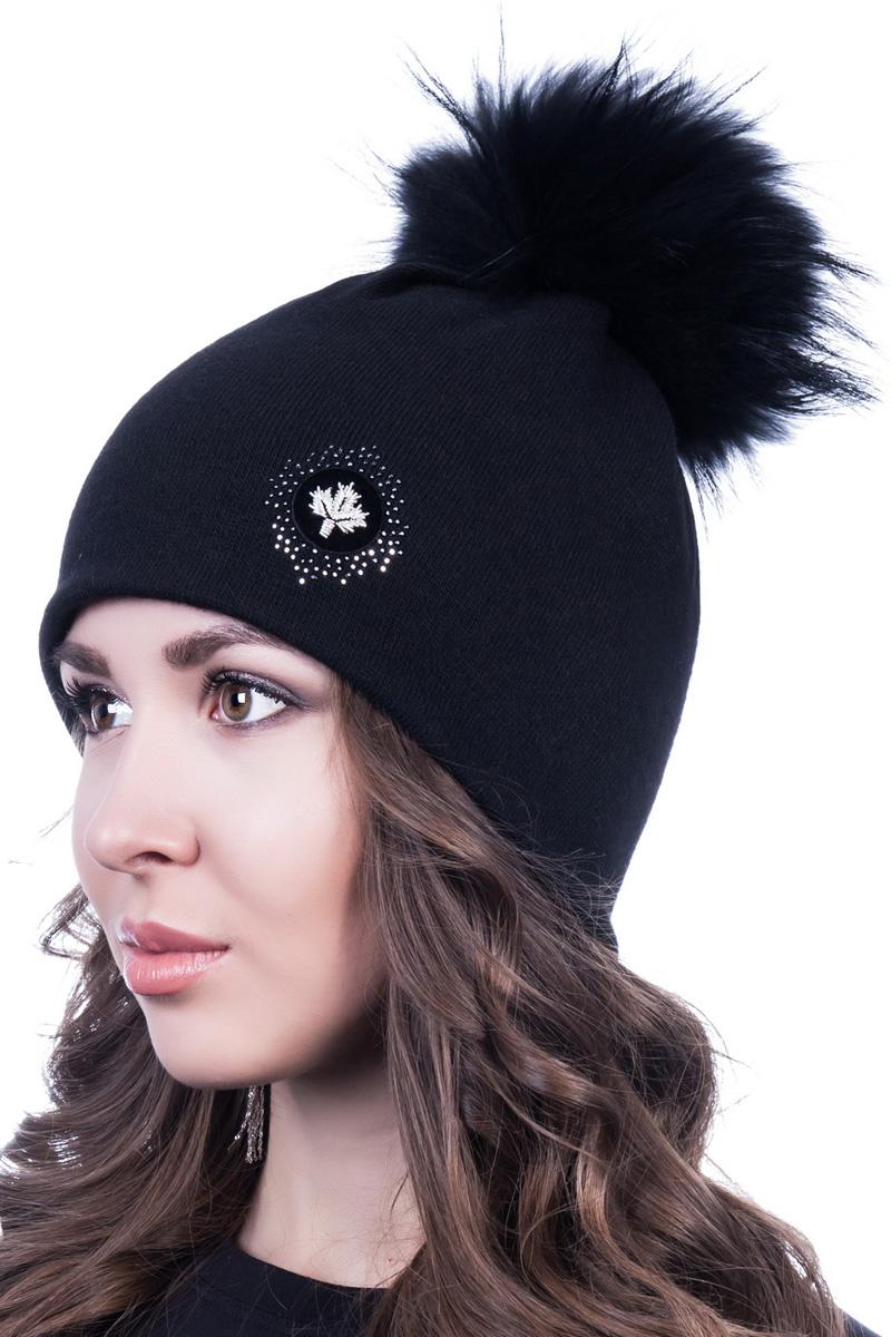 Шапка женская Level Pro Шеврон, цвет: черный. 998947. Размер 56/58998947Женская шапка Level Pro Шеврон отлично дополнит ваш образ в холодную погоду. Модель выполнена из высококачественной пряжи. Для комфорта и тепла внутри шапки предусмотрена мягкая флисовая подкладка. Изделие украшено нашивкой. Такая шапка станет модным и стильным дополнением вашего гардероба, в ней вам будет уютно и тепло!