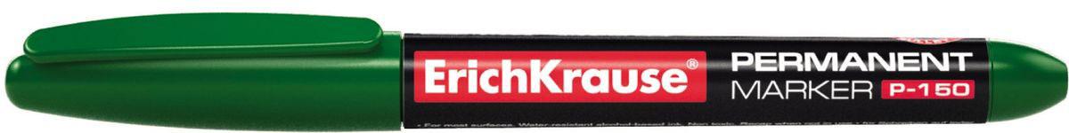 Erich Krause Маркер перманентный P-150 зеленый 3098530985Стильный эргономичный перманентный маркер. Удобно лежит в руке. Имеет клип для переноски. Предназначен для письма и маркировки практически на всех поверхностях: бумага, картон, стекло, пластик, фарфор, керамика, дерево и др. Наконечник устойчивый к повреждению и истиранию. Ширина письма – 0. 5-1. 8 мм. Длина письма – 964 м. Чернила на спиртовой основе, водоcтойкие, светостойкие, стойкие к ультрафиолетовым лучам. Быстро высыхают после нанесения. Нетоксичные. Не содержат ксилол. Стабильное письмо при снижении давления (в самолете).