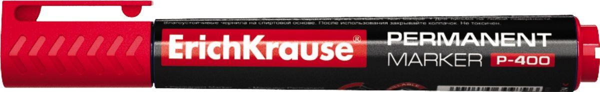 Erich Krause Маркер перманентный P-400 красный 3098830988Перманентный маркер предназначен для офисного, складского и домашнего использования. Имеет клип для переноски. Используется для маркировки и письма практически на всех поверхностях: бумага, картон, стекло, пластик, фарфор, керамика, дерево. Наконечник пулевидной формы, устойчивый к повреждению и истиранию. Ширина письма – 0. 8-2. 2 мм. Длина письма – 976 м. Чернила на спиртовой основе, водостойкие, светостойкие, стойкие к ультрафиолетовым лучам. Быстро высыхают после нанесения. Нетоксичные. Не содержат ксилол. Стабильное письмо при снижении давления (в самолете). Заправляемый