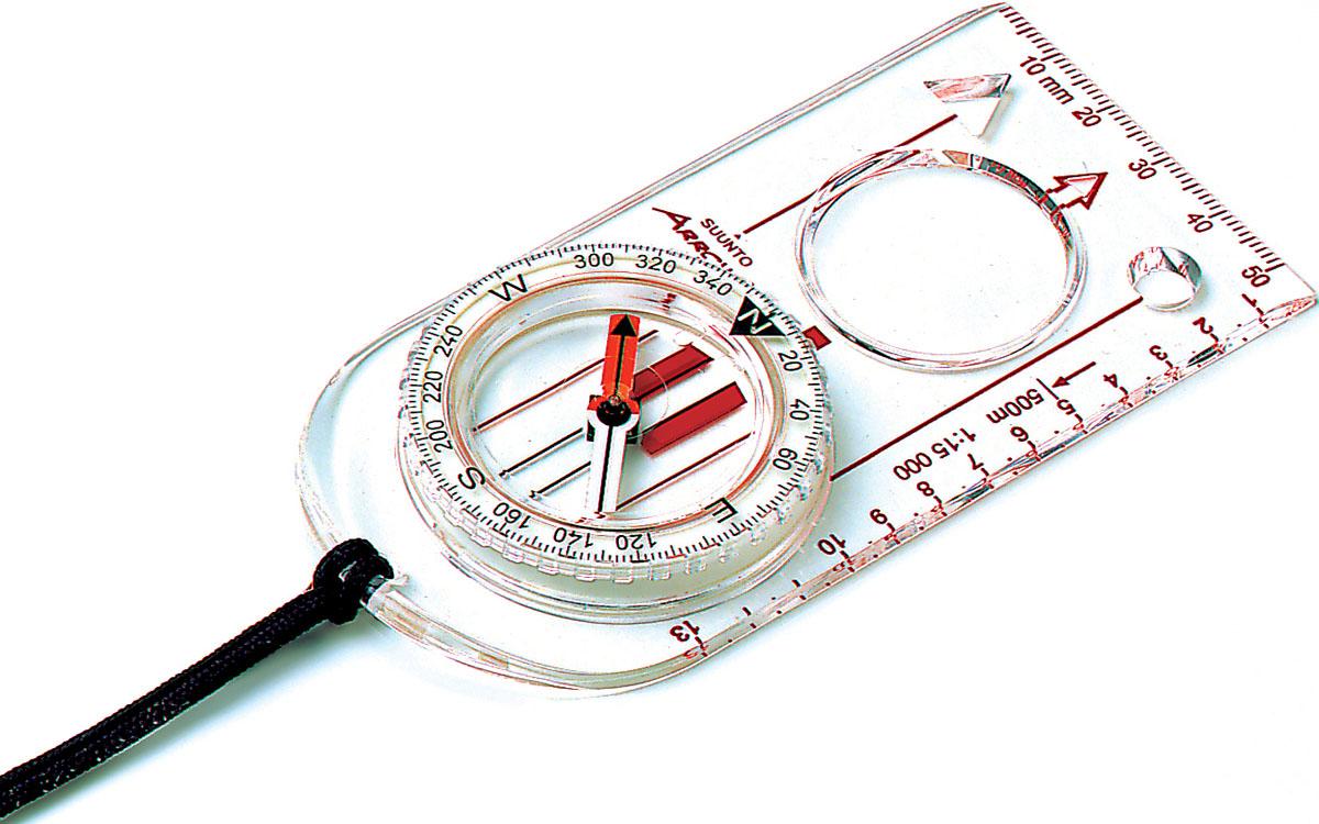 Компас Suunto  ARROW-30 NH Compass , цвет: белый - Компасы и Курвиметры