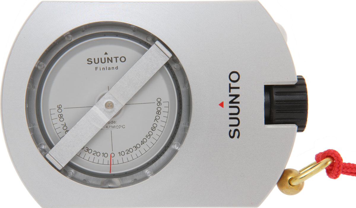 "Клинометр Suunto ""PM-5/360 PC Opti Clinometer"", цвет: серый"