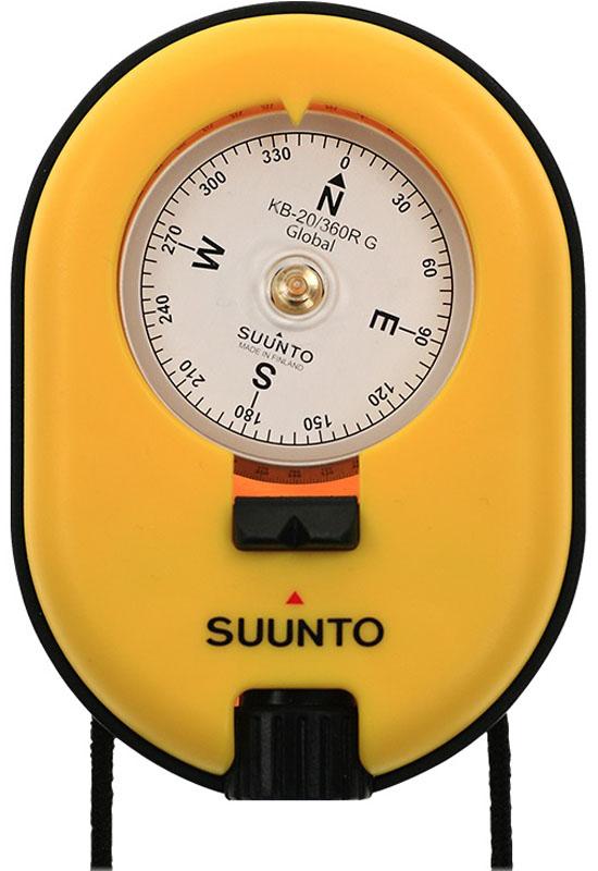 Компас Suunto  KB-20/360R G Yellow Compass , цвет: желтый - Компасы и Курвиметры