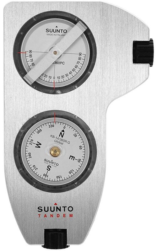 Компас Suunto Tandem/360PC/360RDG Clino/Compass, цвет: серый