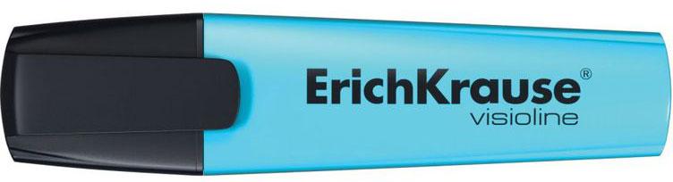 Erich Krause Маркер Visioline V-12 цвет голубой32500Маркер для выделения текста предназначен для работы на всех типах бумаги, в том числе на бумаге для факсов и копировальных машин.Скошенный пишущий узел позволяет варьировать ширину письма. Широкое перо 5,2 мм удобно для выделения текста, а тонкое 0,6 мм –для подчеркивания. Длина непрерывной линии 655 м.Флуоресцентные чернила на водной основе быстро высыхают после нанесения и не просвечиваются через бумагу.