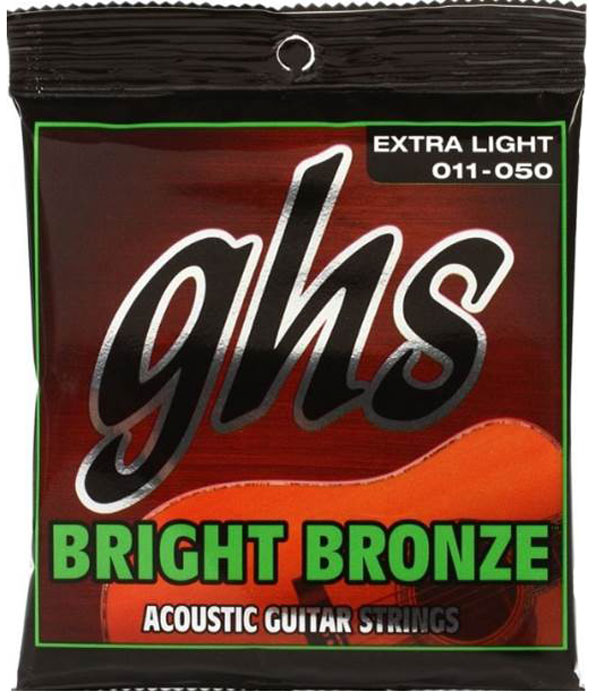 GHS DNT-24745 cтруны для акустической гитары - Гитарные аксессуары и оборудование