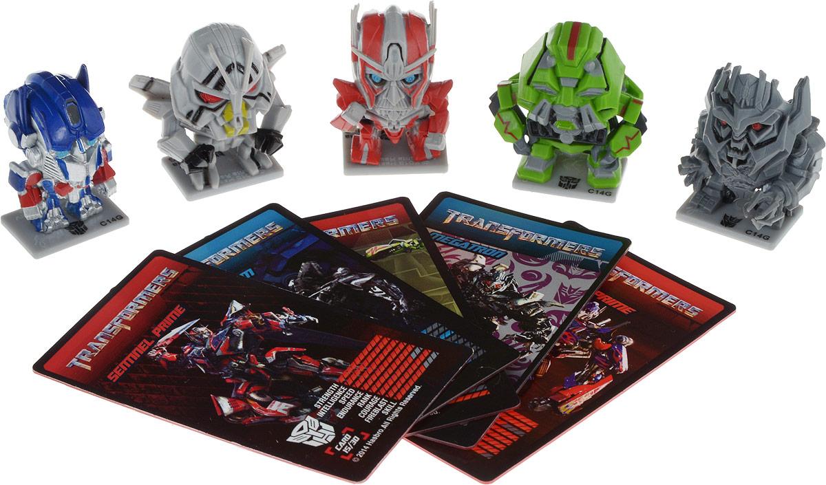 Transformers Набор фигурок цвет красный зеленый синий серый 5 шт transformers маска bumblebee c1331