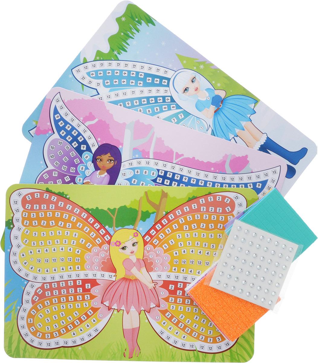 The Orb Factory Мозаика по номерам Сверкающие феи 3 в 1 полотенца банные la pastel комплект полотенец 2 предмета