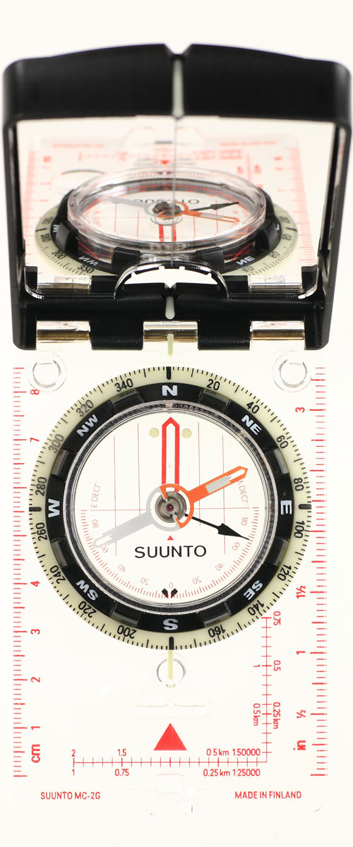 "Компас Suunto ""MC-2 G Mirror Compass"", цвет: белый"