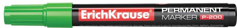 Erich Krause Маркер перманентный P-200 зеленый 4780 маркер перманентный erich krause р 200 1 5 мм зеленый 21811 21811