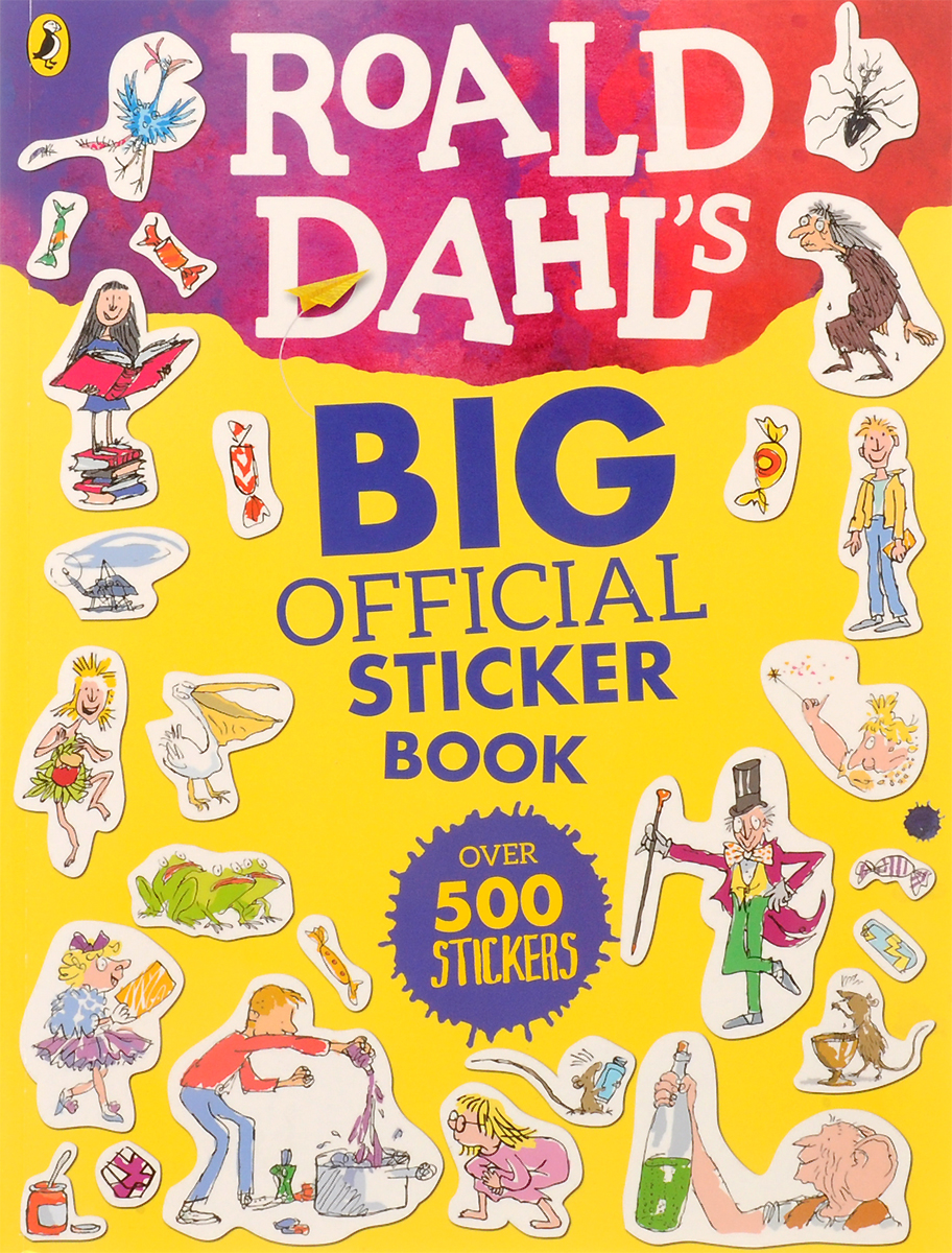 Big Official Sticker Book roald dahl the complete short stories volume 1 1944 1953