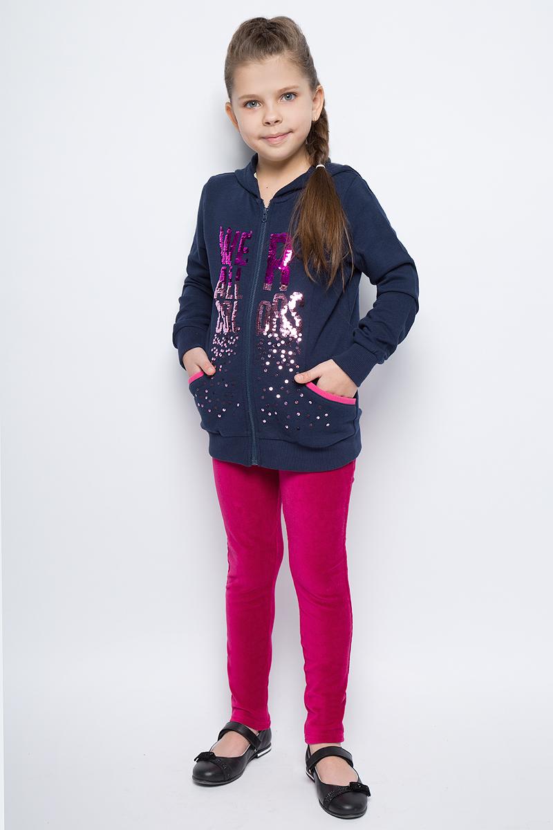 Пиджак для девочек United Colors of Benetton, цвет: синий. 3DF3C5282_13C. Размер 1503DF3C5282_13C