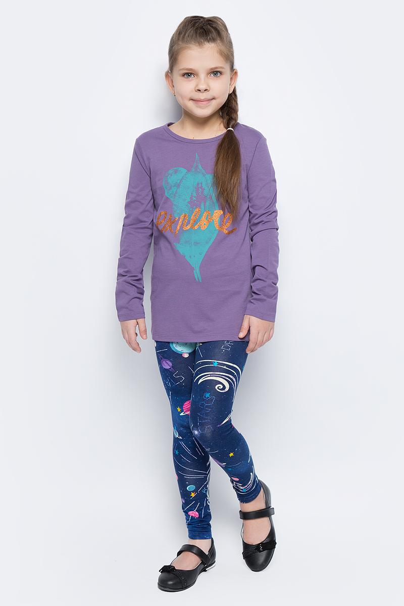 Майка для девочек United Colors of Benetton, цвет: фиолетовый. 3I1XC139V_1V4. Размер 1503I1XC139V_1V4