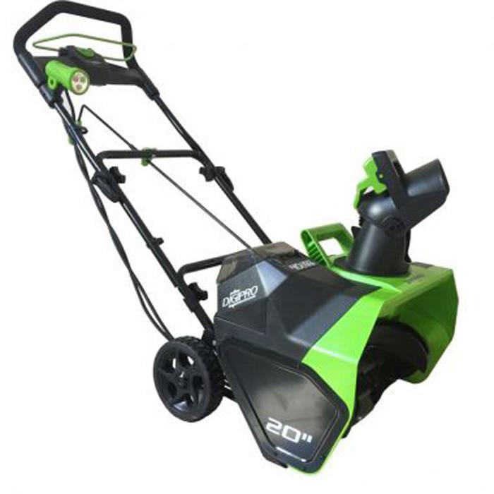 Снегоуборщик аккумуляторный Greenworks 40V, 51 см, бесщеточный 2600007