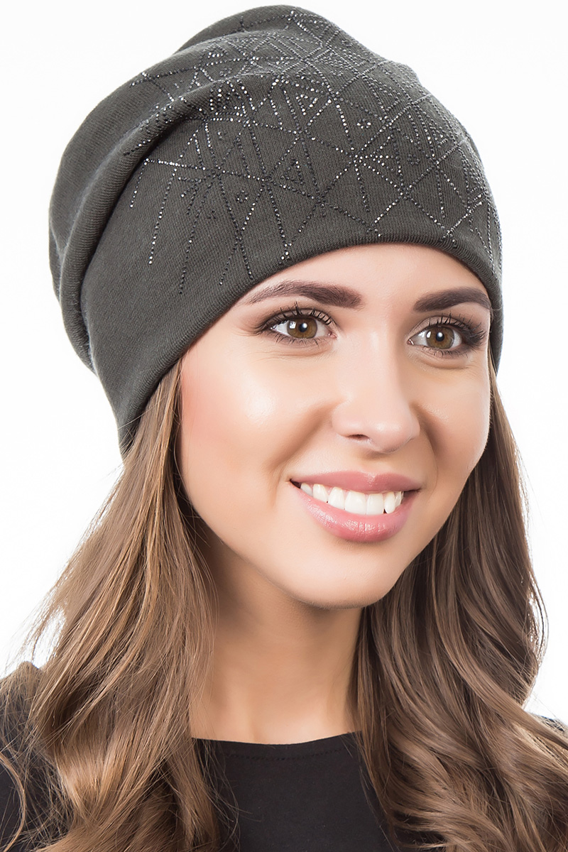 Шапка женская Level Pro Артель, цвет: хаки. 404536. Размер 56/58404536Стильная женская шапка Level Pro дополнит ваш наряд и не позволит вам замерзнуть в холодное время года. Шапка выполнена из шерсти и полиэстера, что позволяет ей великолепно сохранять тепло и обеспечивает высокую эластичность и удобство посадки. Изделие оформлено стразами. Такая шапка составит идеальный комплект с модной верхней одеждой, в ней вам будет уютно и тепло.