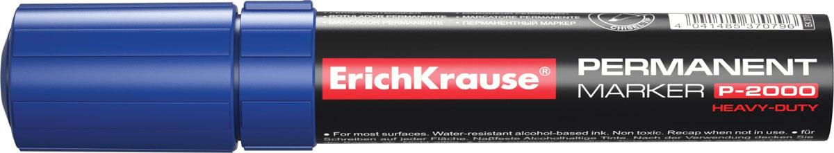 Erich Krause Маркер перманентный P-2000 синий 37079 -  Маркеры