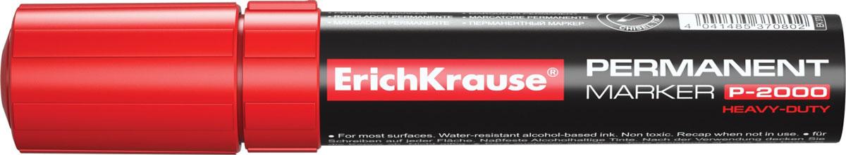 Erich Krause Маркер перманентный P-2000 красный 37080 -  Маркеры