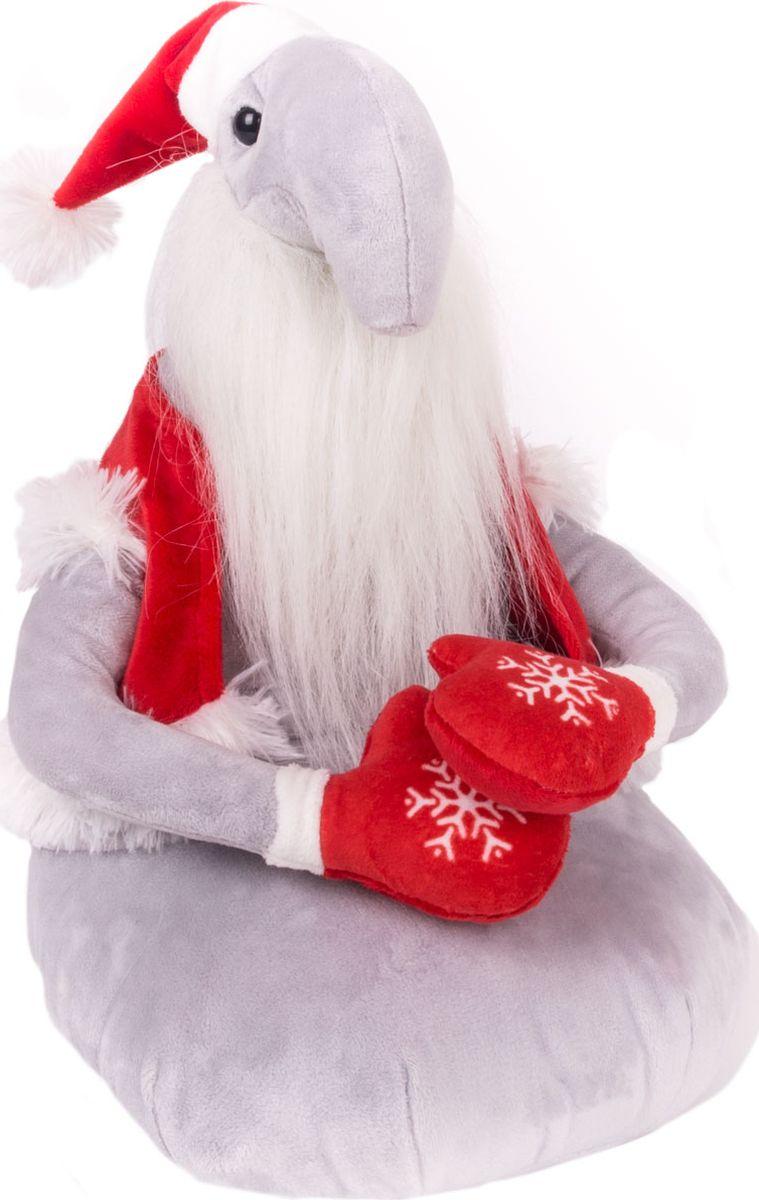Gulliver Мягкая игрушка Ждун Дед Мороз 30 см gulliver мягкая игрушка ждун 30 см