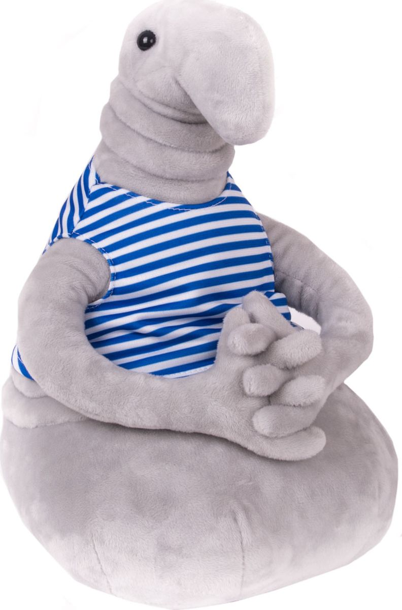 Gulliver Мягкая игрушка Ждун Жду Праздник 2 30 см сланцы gulliver gulliver gu015abqwh39
