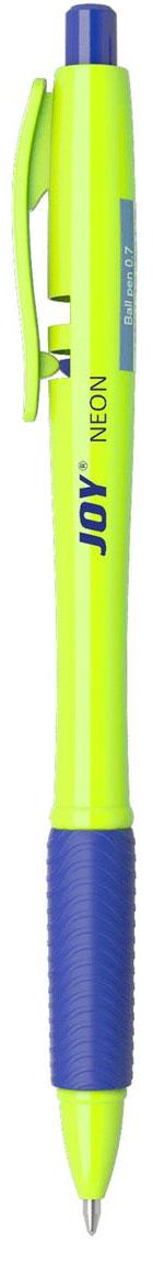 Erich Krause Ручка шариковая автоматическая Ultra Glide Technology Joy Neon синяя 43347 ручка шариковая erich krause ultra glide technology u 11 синяя