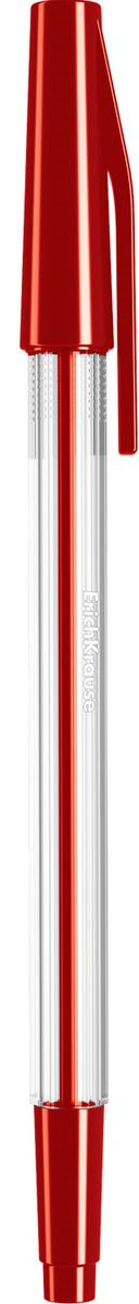 Erich Krause Ручка шариковая Ultra L-10 красная 3943339433Шариковая ручка в прозрачном корпусе с рифленой поверхностью для пальцев. Цвет колпачка соответствует цвету чернил. Цвет чернил- красный. Пишущий узел 0. 7 мм обеспечивает тонкое и четкое письмо. Толщина линии 0. 25 мм. Длина письма 1800 м.
