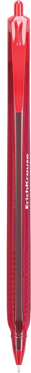 Erich Krause Ручка шариковая автоматическая Ultra Glide Technology U-28 красная ручка шариковая erich krause ultra glide technology u 11 синяя