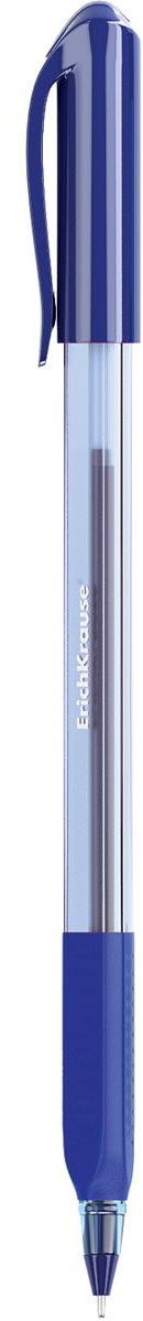 Erich Krause Ручка шариковая Ultra Glide Technology U-19 синяя 3351933519Цвет чернил- синий. Ручка с уникальной технологией Ultra Glide, обеспечивающей мягкое письмо. Треугольный прозрачный корпус ручки с мягкимрезиновым грипом. Цвет грип зоны и колпачка соответствует цвету чернил. Пишущий узел 0. 6 мм. Толщина линии 0. 32 мм. Длинаписьма 1000 м.
